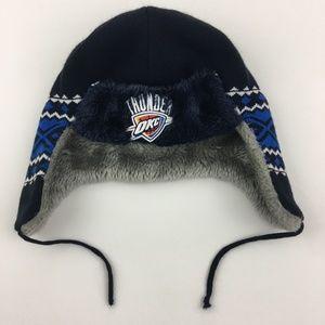 NBA Oklahoma Thunder New Era Knit Hat Beanie